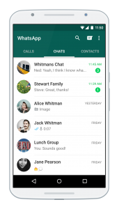 whatsapp on phone